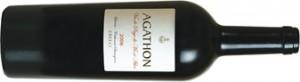 Wein Agathon 2005 liegend